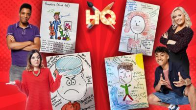 CBBC HQ - Design Your Own Dumping Ground Character