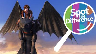Dragons: Race to the Edge - Spot the Difference: Dragons