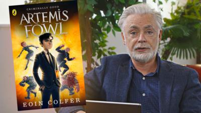 CBBC Book Club - Eoin Colfer answers your questions