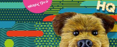 CBBC HQ Hacker on CBBC Branded patters and backgrounds with the CBBC HQ logo