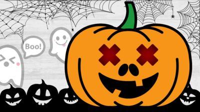 CBBC - Can you make a spook-tacular pumpkin?