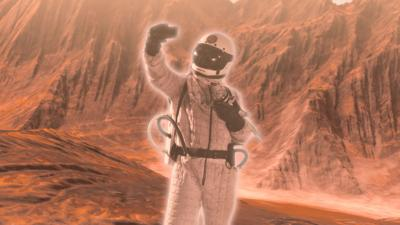 Hey You! What If... - Hey You What If You Could Holiday on Mars?