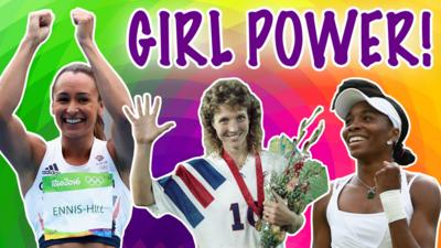 CBBC - How well do you know sporting her-story?