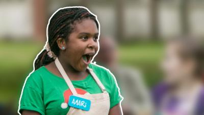 Junior Bake Off - Junior Bake Off Winner Amari answered your questions
