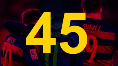 The number 45