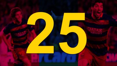 The number 25