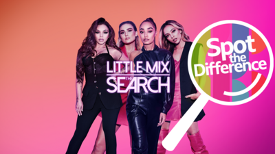 Little Mix The Search - Spot the Difference - Little Mix The Search