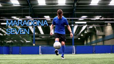 MOTD Kickabout - How to improve your skills: Maradona 7