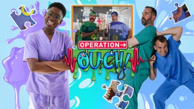 Operation Ouch! - Jigsaw: Operation Ouch's Slimiest Moments!