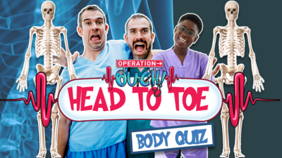 Operation Ouch! - Head to Toe Quiz
