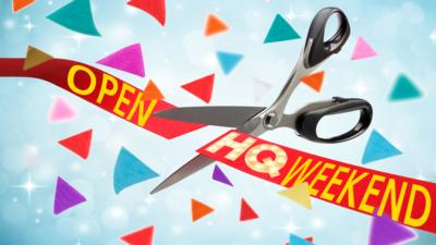 CBBC HQ - Open the weekend