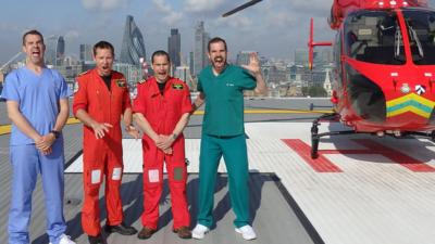 Operation Ouch! - Medical Hero: Air Ambulance
