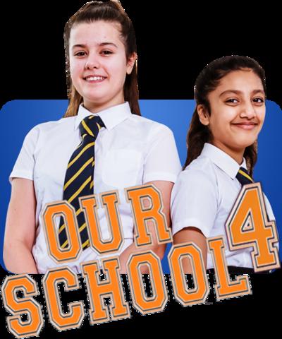 Our School 4 logo.