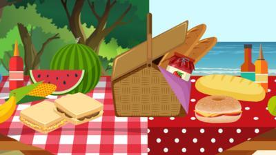 CBBC - Pick your perfect picnic!