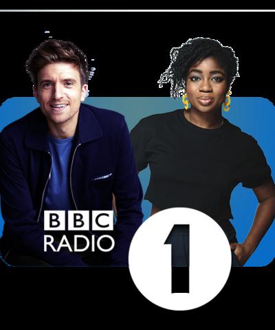 Greg James and Clara Amfo, BBC Radio 1.