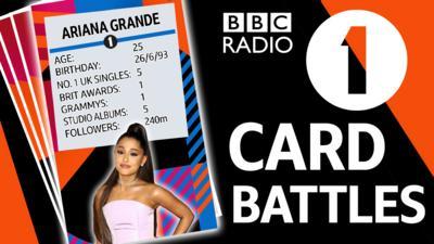 Radio 1 - Card Battles: Radio 1 edition