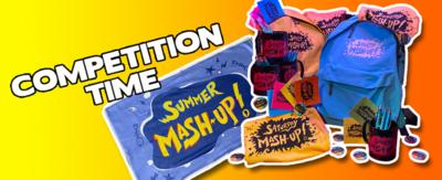 Click to enter the Saturday Mash-Up competition to win a goody bag.