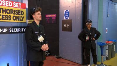 Saturday Mash-Up! - Security Guards wreak havoc for Sam and Mark
