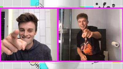 Saturday Mash-Up! - HRVY chats to Joe from his toilet!