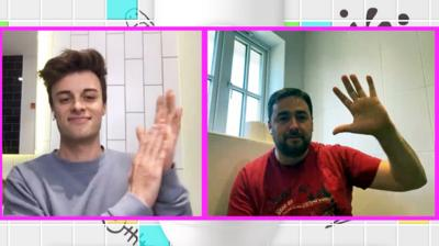 Saturday Mash-Up! - Jason Manford interviewed from his toilet!
