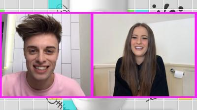 Saturday Mash-Up! - TikTok star Holly H chats from her toilet!