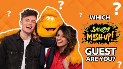 Saturday Mash-Up! - QUIZ: Which Saturday Mash-Up! Guest Are You