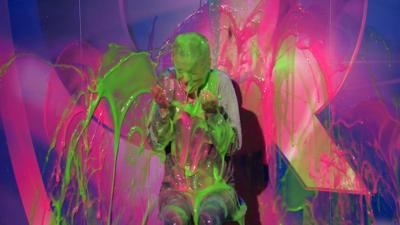 Saturday Mash-Up! - Fleur from 4 O'Clock Club gets SUPER-slimed!
