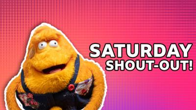 Saturday Mash-Up! - Saturday Shout-out!