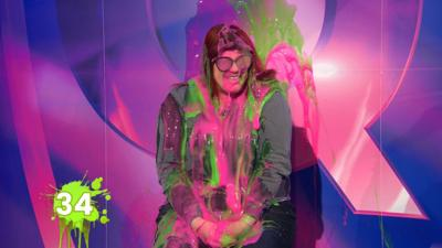Saturday Mash-Up! - Jenny Ryan gets SLIMED!