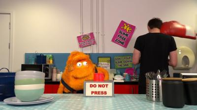 Saturday Mash-Up! - Stanley hits the 'DO NOT TOUCH' button!