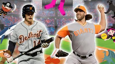 BBC Sport - Major League Baseball name game