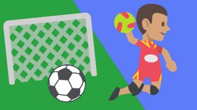 BBC Sport - Football or Handball?