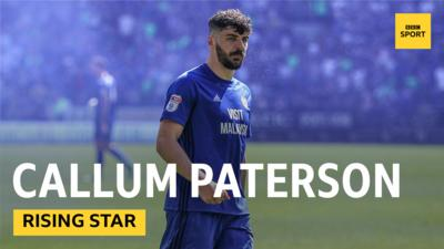 Callum Paterson of Cardiff City.