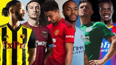 MOTD Kickabout - Pick your favourite Premier League kit