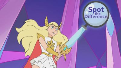 She-Ra and the Princesses of Power - Spot The Difference: She-Ra