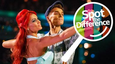 Strictly Come Dancing on CBBC - Spot the Difference: Strictly Come Dancing