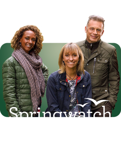 Gillian, Michaela and Chris from Springwatch.