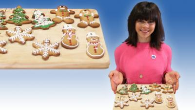 Blue Peter - Steph Blackwell's gingerbread