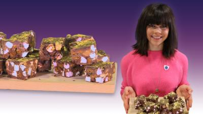 Blue Peter - Steph Blackwell's rocky road