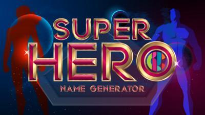 CBBC - Superhero Name Generator