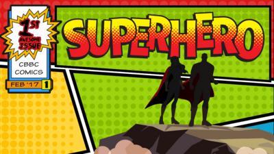 CBBC HQ - Superhero name generator