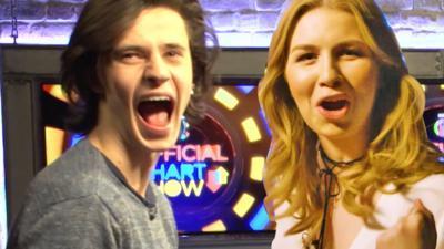 CBBC Official Chart Show - Cel vs Millie: The Power Challenge