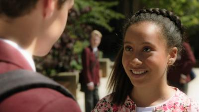 The Dumping Ground - Candi-Rose meets a mystery boy
