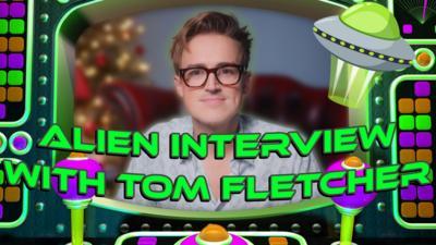 Saturday Mash-Up! - Tom Fletcher's Alien Interview