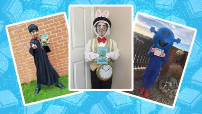 Blue Peter - World Book Day costume gallery!