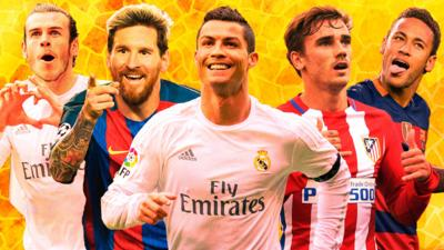 MOTD Kickabout - Which La Liga star are you?