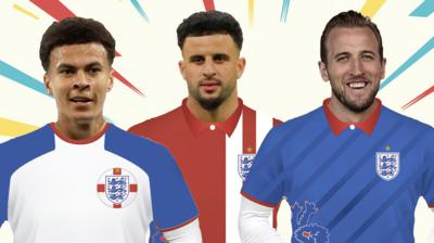 5b839efe7e3 Design your own England football kit - CBBC - BBC