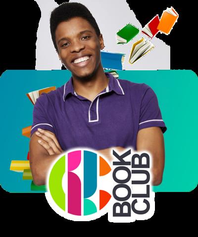 CBBC Book Club Branding with Rhys