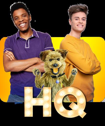 Rhys, Hacker and Joe on HQ Branding