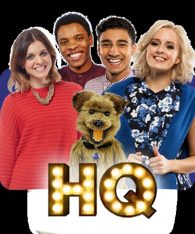 CBBC HQ Brand Image Lauren, Rhys, Karim, Katie, & Hacker